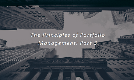 Principles of Portfolio Management: Part 3 – SWL Webinar Episode